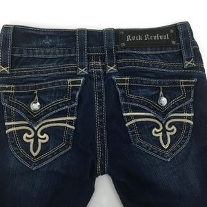 Rock Revival Jeans Gwen Straight Size 25